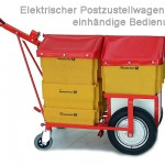 e-Postzustellwagen-einhändig